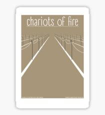 Chariots of fire Sticker