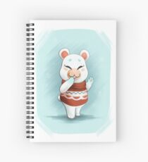 ACNL Flurry the Hamster Spiral Notebook
