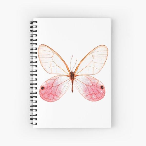 Blushing Phantom Butterfly (Cithaerias aurorina) Spiral Notebook