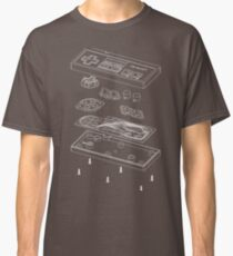 NES: Just the Guts (white) Classic T-Shirt