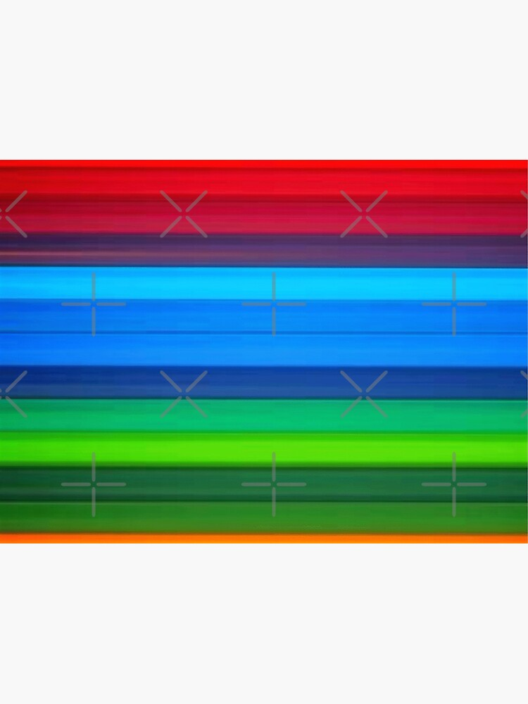 Rainbow Stripes by RipeBananaShop