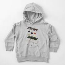 Sudadera con capucha para bebé NES: solo las tripas en color
