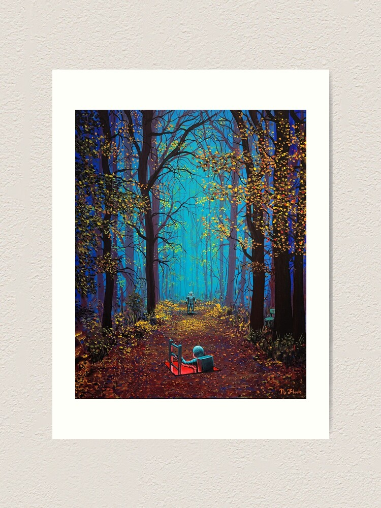 Alternate view of There You Are Art Print