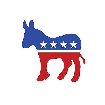 Proud Democrat by unitedinthreads