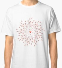 arrows and heart Classic T-Shirt