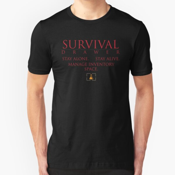 Martian Gothic Unification - Survival Drawer [Super Replay Parody Shirt] Slim Fit T-Shirt