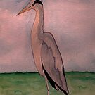 Heron by Anne Gitto