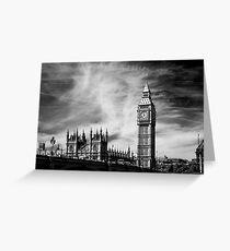 Cities London Big Ben Greeting Card