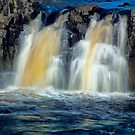 Low Force Waterfall by domediart