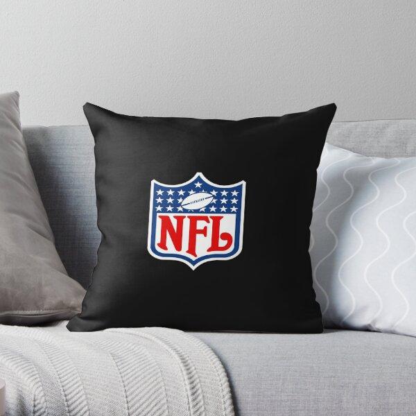 Nfl logo small version Throw Pillow