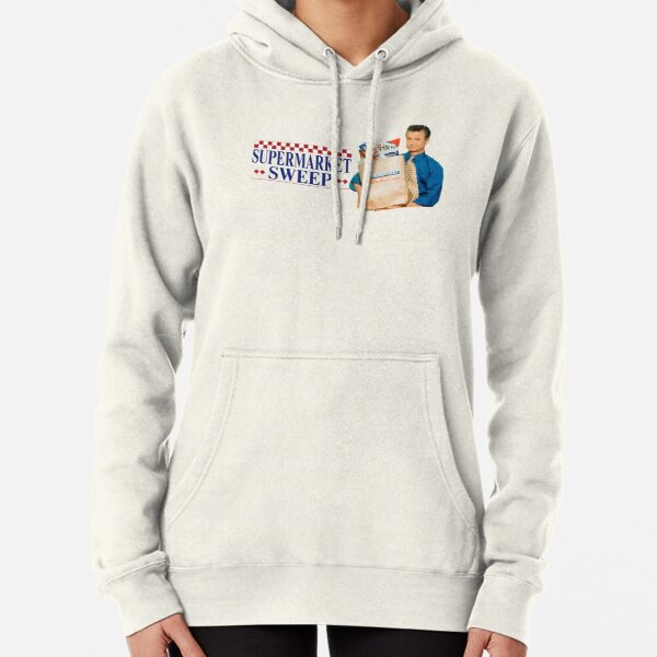Supermarket sweep t-shirt design Pullover Hoodie