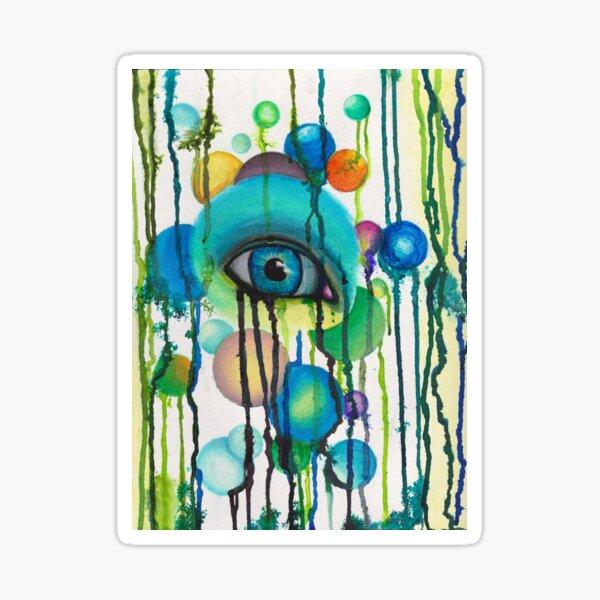 tear garden Sticker