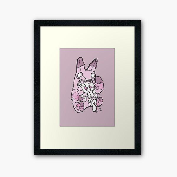 Nauseated Framed Art Print