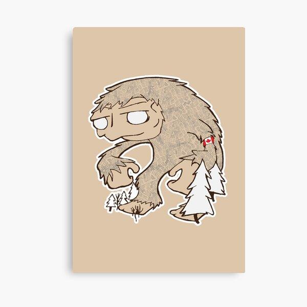 Sasquatch Friend Canvas Print