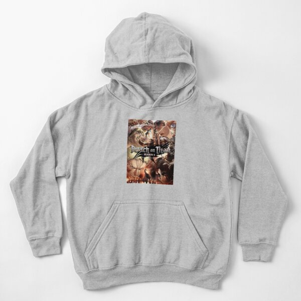 Attack On Titan - The Final Season Poster Kids Pullover Hoodie