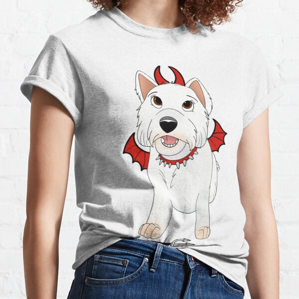 Devil Dog Design Classic T-Shirt