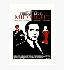 The Office: Threat Level Midnight Movie Poster Art Print