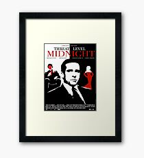 The Office: Threat Level Midnight Movie Poster Framed Print