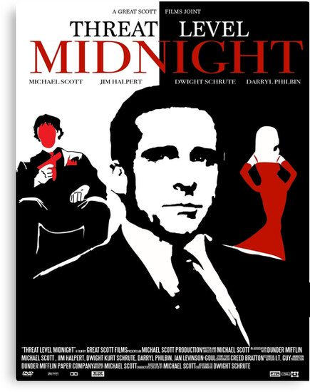 The Office Threat Level Midnight Movie Poster