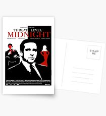 The Office: Threat Level Midnight Movie Poster Postcards