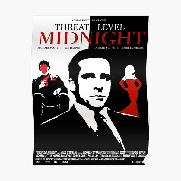 The Office: Threat Level Midnight Movie Poster Poster