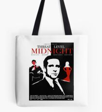 The Office: Threat Level Midnight Movie Poster Tote Bag