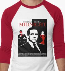 The Office: Threat Level Midnight Movie Poster Baseball ¾ Sleeve T-Shirt