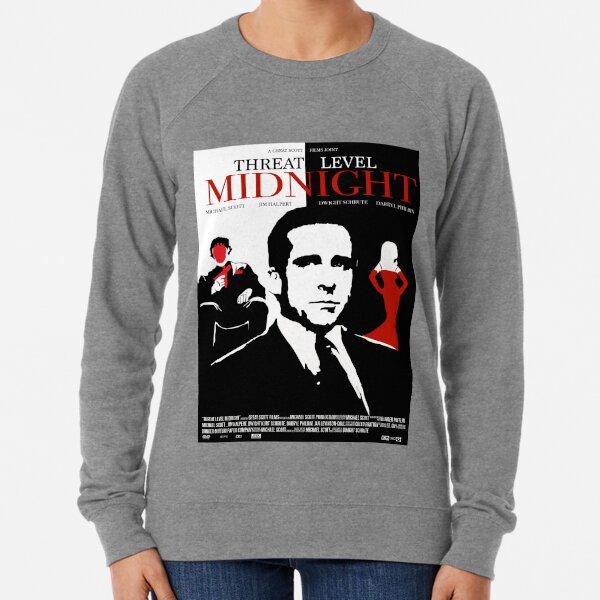 The Office: Threat Level Midnight Movie Poster Lightweight Sweatshirt