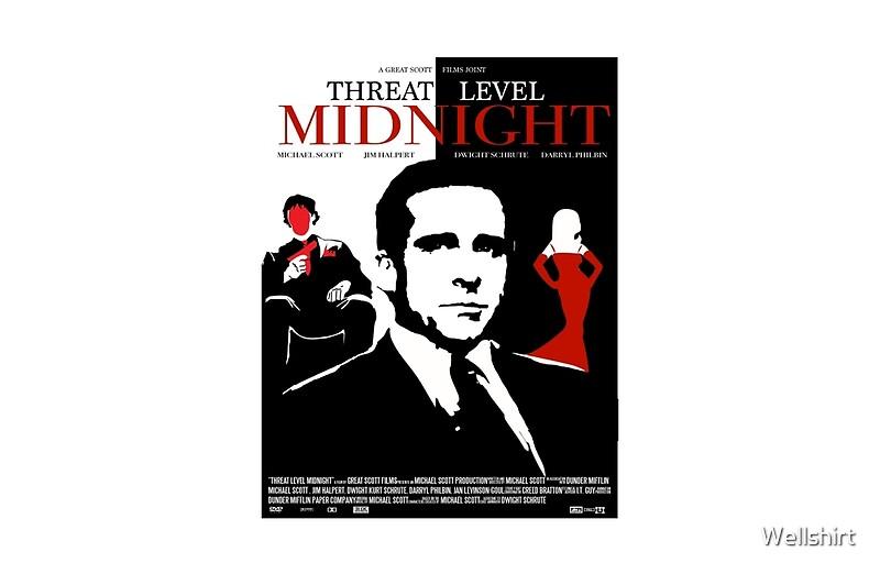 """The Office: Threat Level Midnight Movie Poster"" Studio ..."