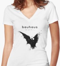 Bela Lugosi's Dead - Bauhaus Women's Fitted V-Neck T-Shirt