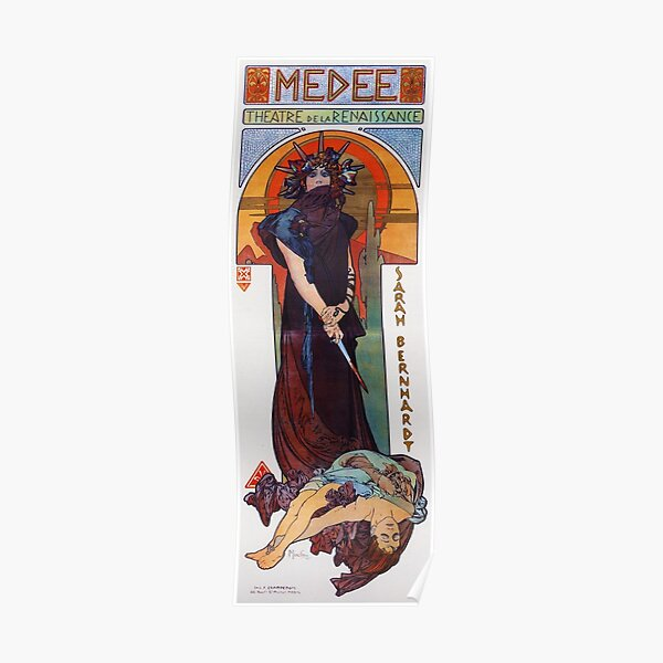 Medea - Alphonse Mucha - 1898 Poster