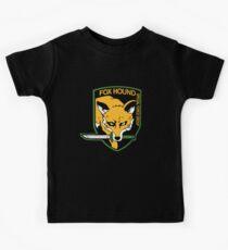 Metal Gear Solid - Fox Hound Emblem Kids Tee
