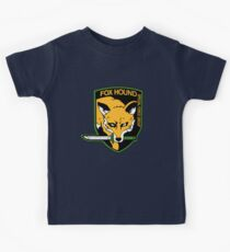 Metal Gear Solid - Fox Hound Emblem Kids Tee