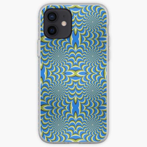 Pixers Optical illusion ellipse swirl iPhone Soft Case