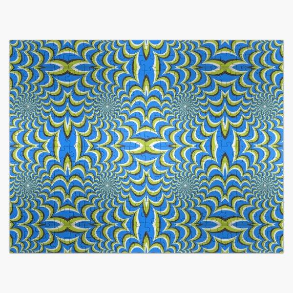 Pixers Optical illusion ellipse swirl Jigsaw Puzzle
