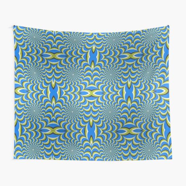 Pixers Optical illusion ellipse swirl Tapestry