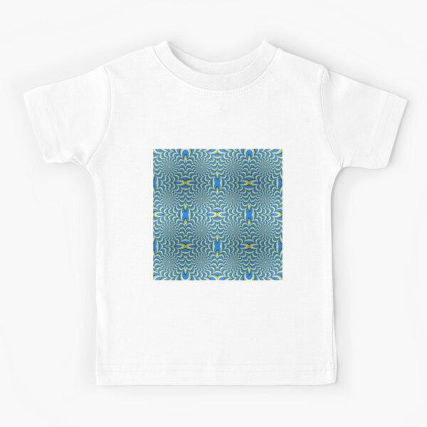 Pixers Optical illusion ellipse swirl Kids T-Shirt