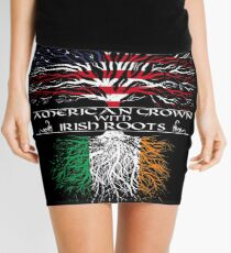 Minifalda Americano crecido con raíces irlandesas