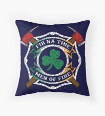 Fir na Tine - Men of Fire Throw Pillow