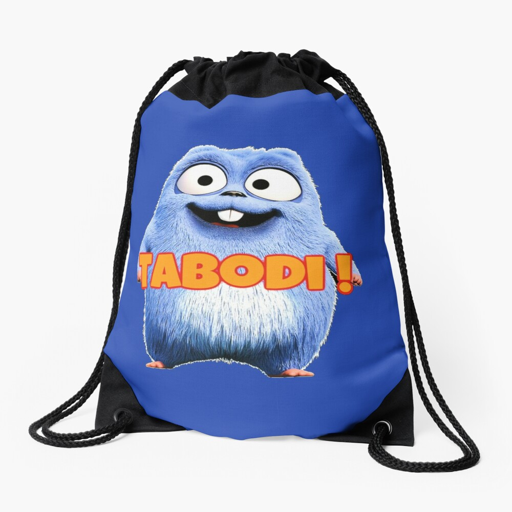Lemmings Tabodi and Grizzy Drawstring Bag