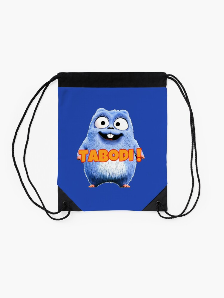 Alternate view of Lemmings Tabodi and Grizzy Drawstring Bag