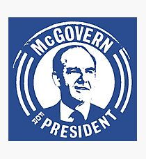 GEORGE McGOVERN FOR PRESIDENT Photographic Print