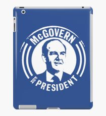GEORGE McGOVERN FOR PRESIDENT iPad Case/Skin