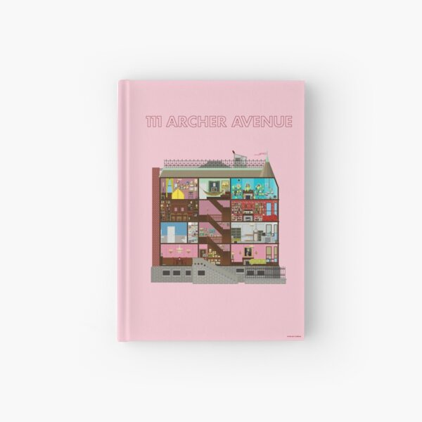 111 Archer Avenue from The Royal Tenenbaums Hardcover Journal