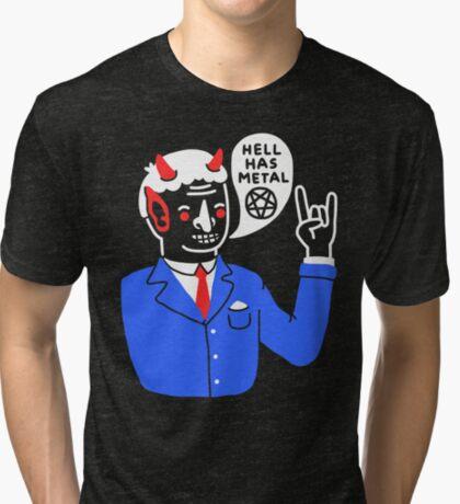 Heaven's Nice, But... Tri-blend T-Shirt