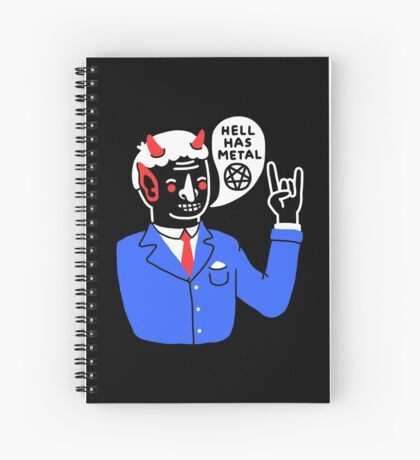 Heaven's Nice, But... Spiral Notebook