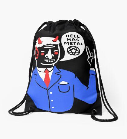 Heaven's Nice, But... Drawstring Bag