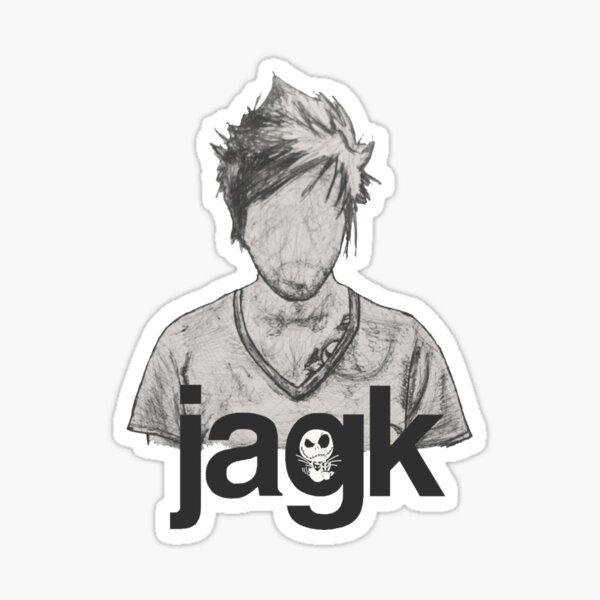 Jacko Sticker