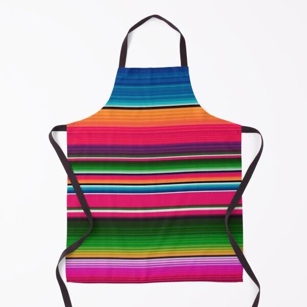 Mexican Blanket Striped Fiesta Serape  Apron