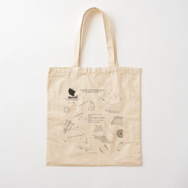 the song of achilles Cotton Tote Bag